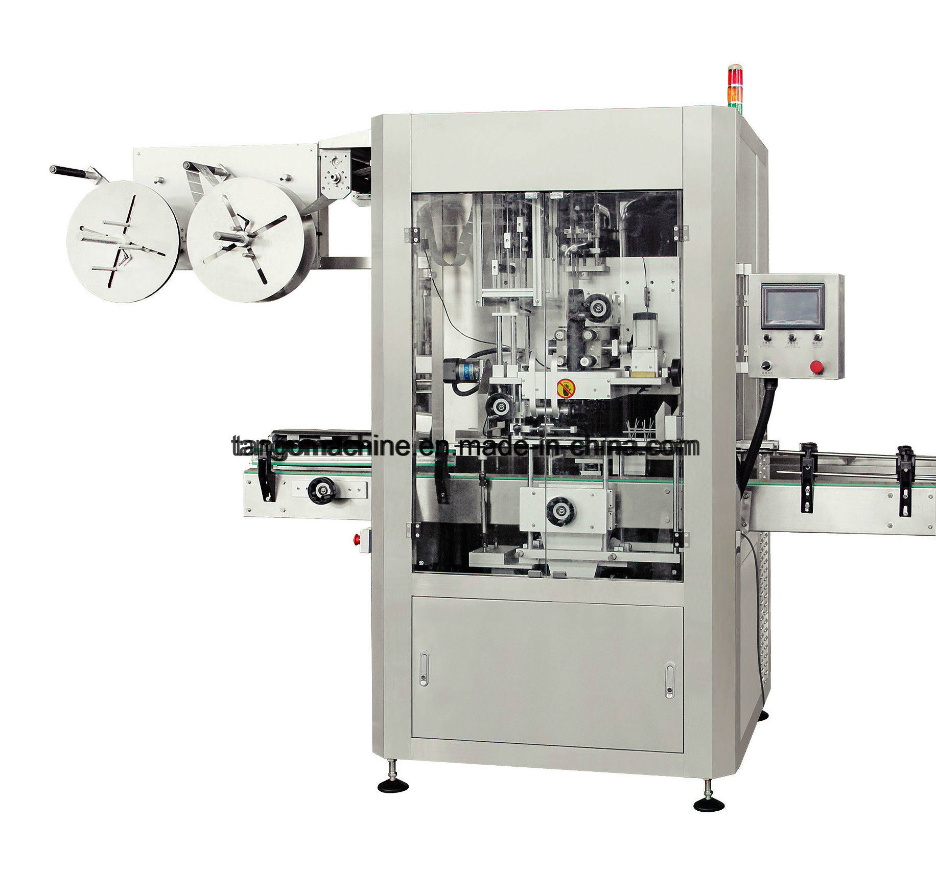 Good Price Automatic Round Bottle Shrink Sleeve Labeling Machine
