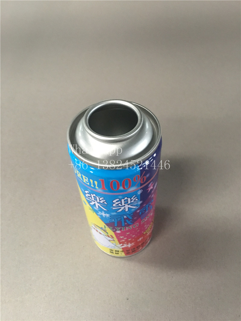 Empty Mini Aerosol Can for Flying Snow