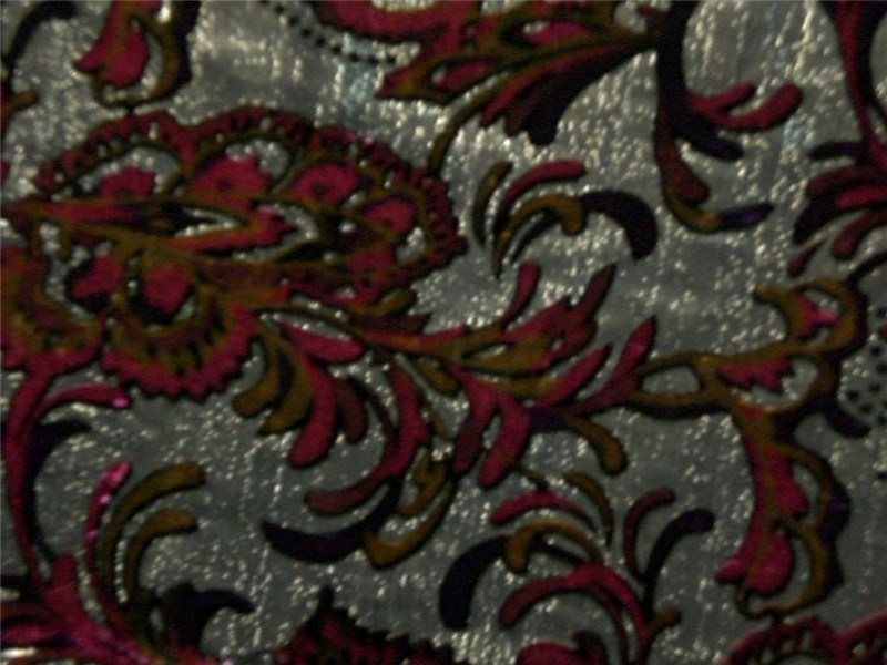 Silk Lurex Vevet Discharge Print Bout out