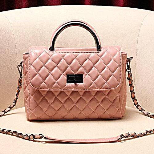 Genuine Leather Shoulder Bags Sheepskin Designer Brand Women Handbags Emg4883