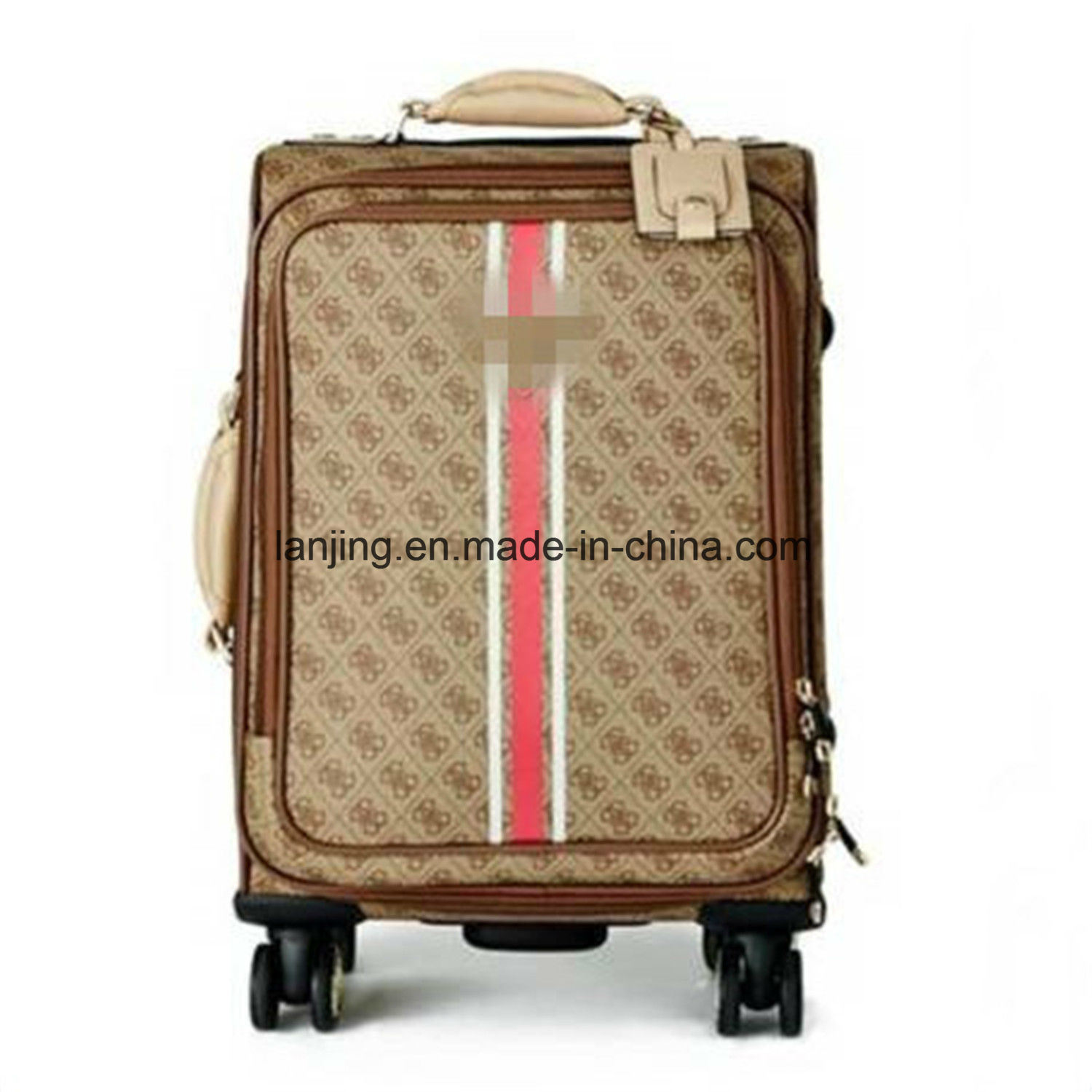 "Sport 18"" 8-Wheel Spinner Suitcase Carry-on Luggage"