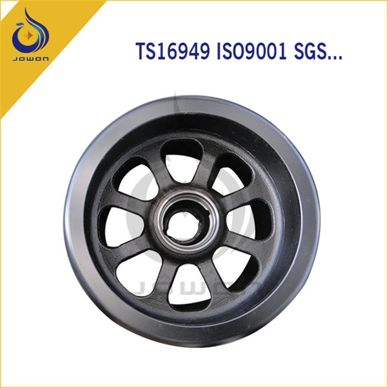 Black Surface Finish Auto Spare Part Truck Wheel Hub