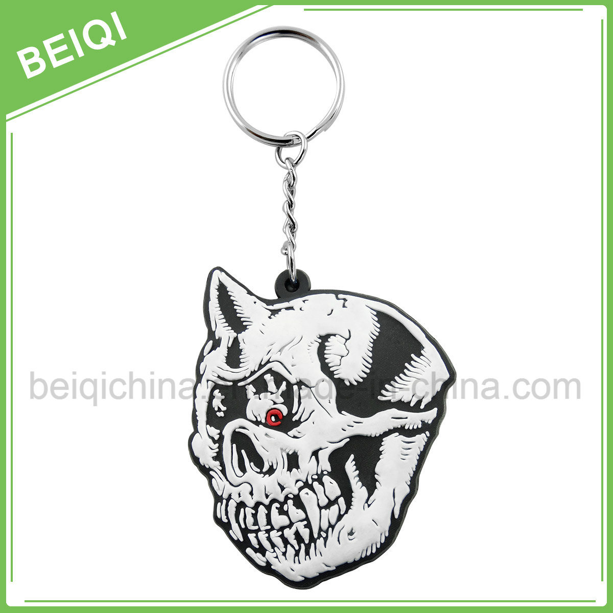 Professional Customized Soft PVC Rubber 2D /3D Key Chain