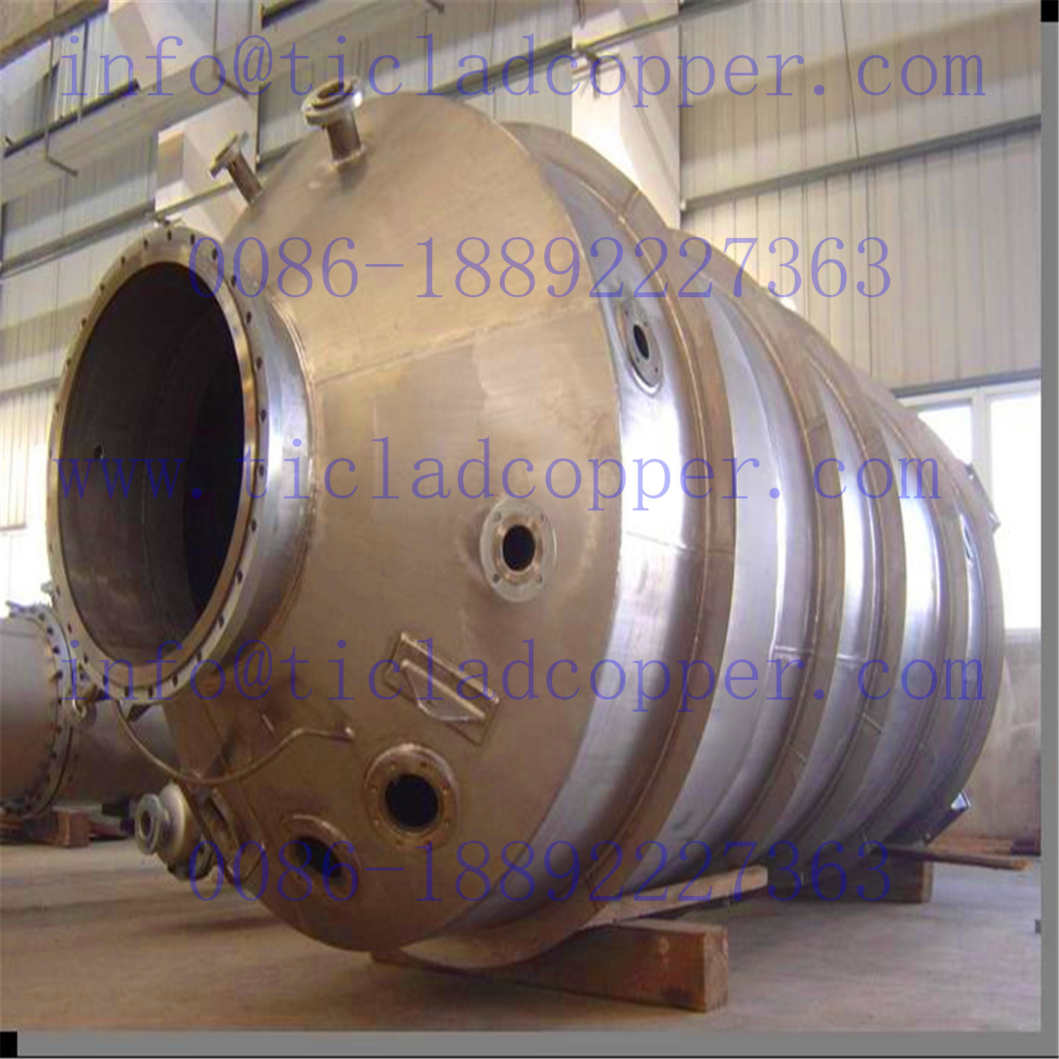 Titanium Pressure Vessle/ Reaction Tanks / Kettle