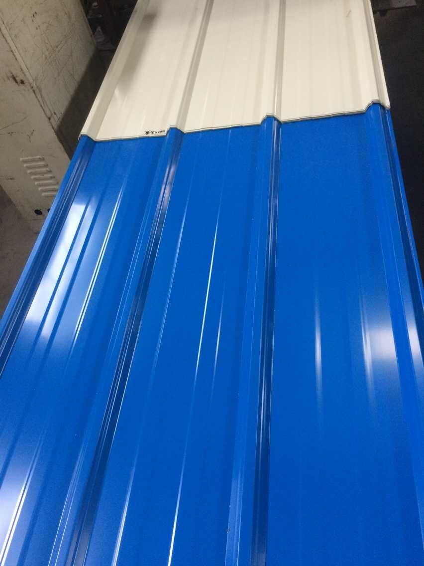 Blue Color Coated Steel Sheets For Construction Material