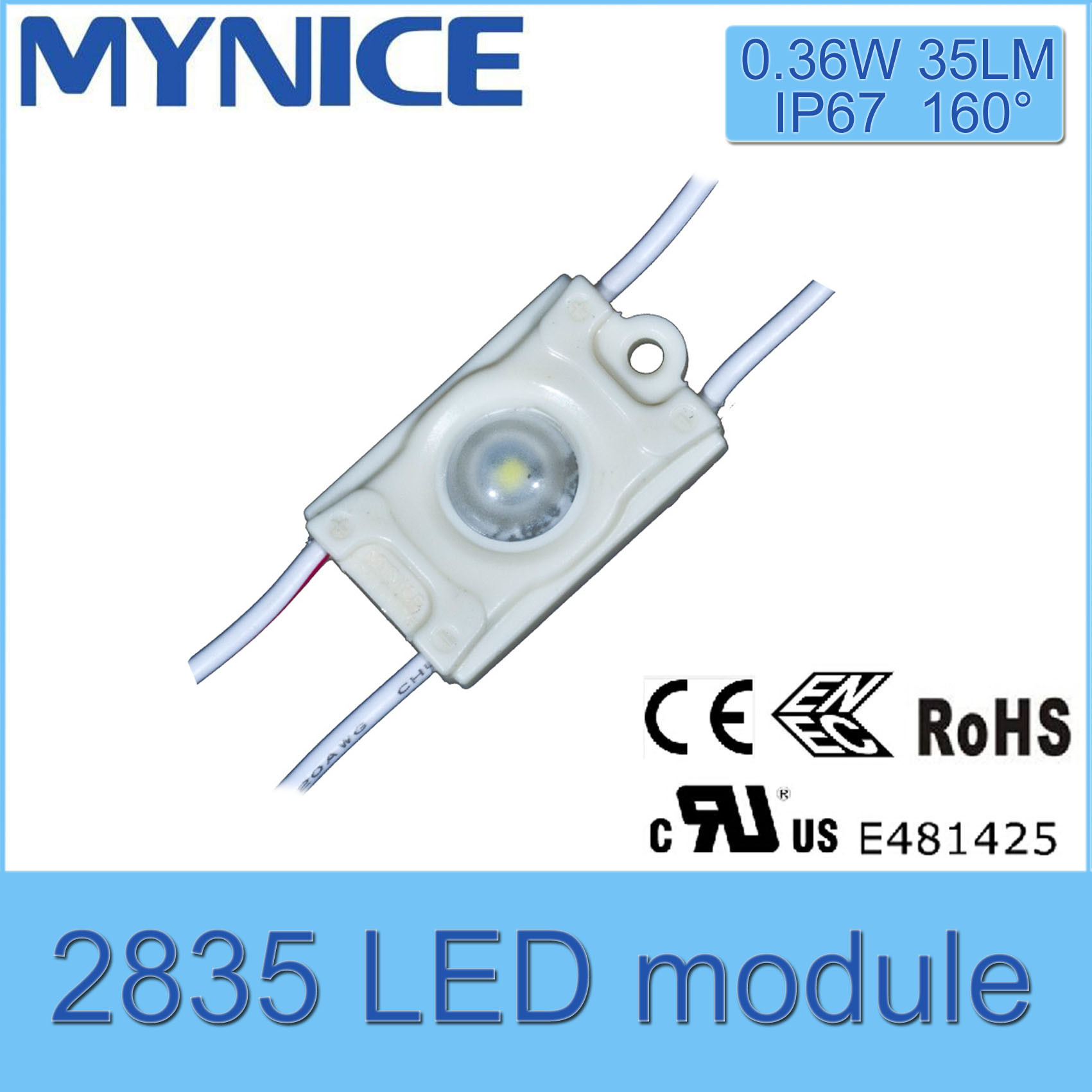 Wholesale Price Osram Chips LED Injection Module Waterproof UL/Ce/Rohs Certificate