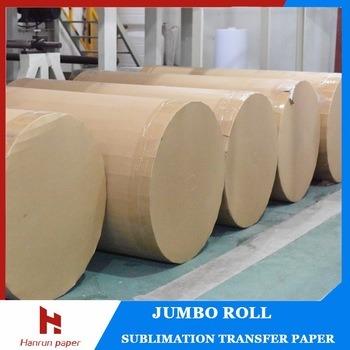 500m/1000m/2000m Jumbo Roll 45, 60, 70, 90GSM Dye Sublimation Transfer Paper for Reggiani Printer/Ms-Jp4