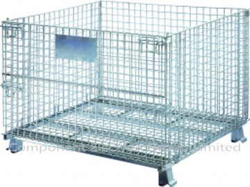 Stackable Cage, Storage Cage, Wire Mesh Cage (K006)