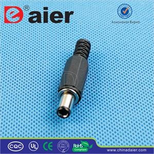 2.1mm/2.5mm * 5.5mm Stereo Male DC Plug