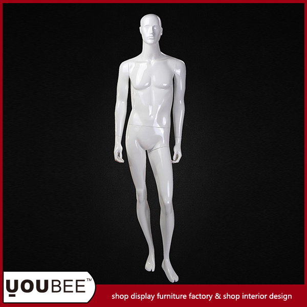 High Quality Realistic Male Fiberglass Mannequin for shopping Mall