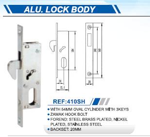 High Quality Aluminum Lock Body
