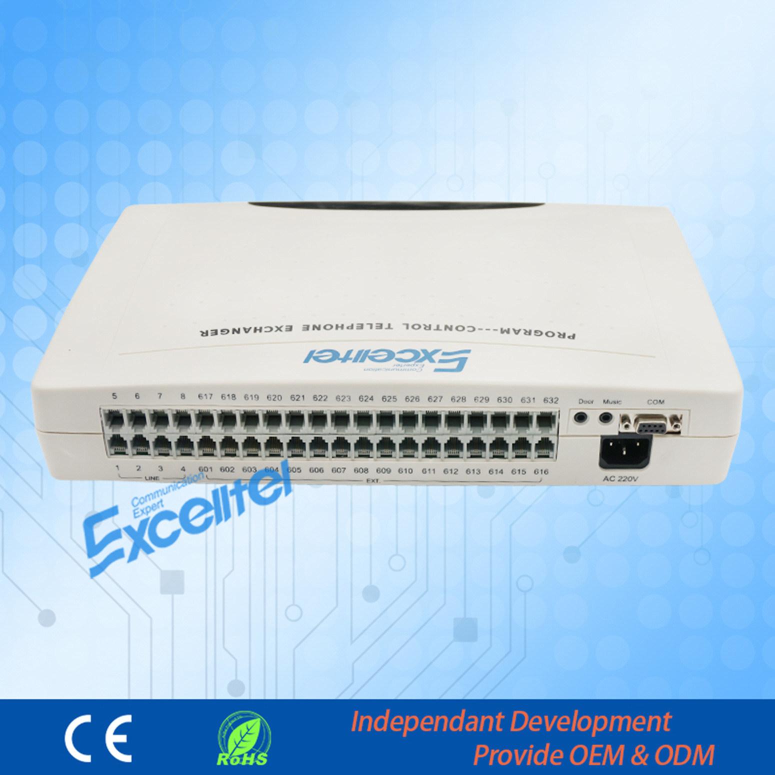 Excelltel PBX Intercom System Pabx Cp832-832 Hybrid System