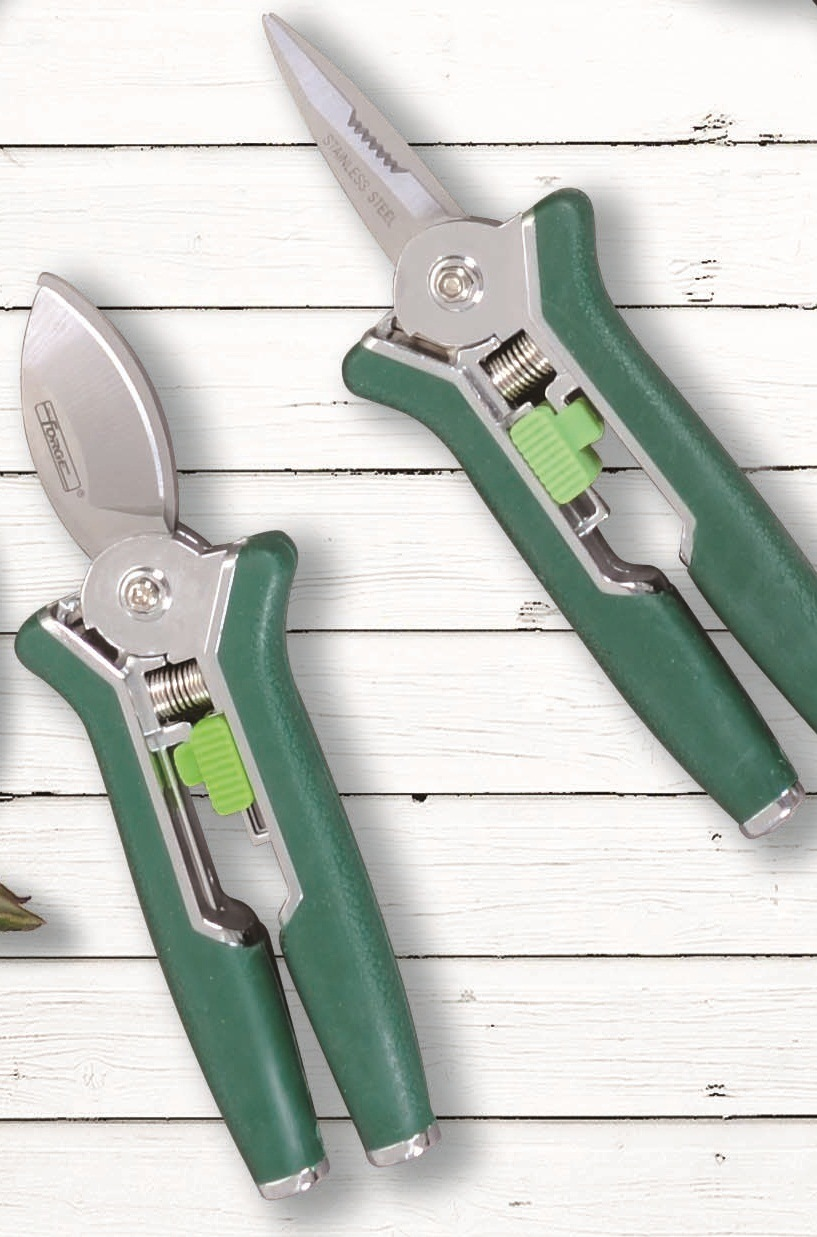 "Garden Secateurs Garden Pruners 6"" Stainless Steel Mini Pruning Shears"