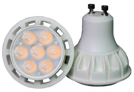 7W LED GU10 with EMC 1W LED