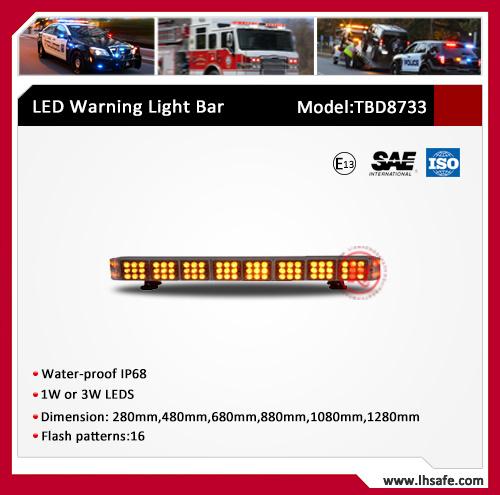 LED Mini Ambulance Warning Light Bar (TBD8733-0.28M)