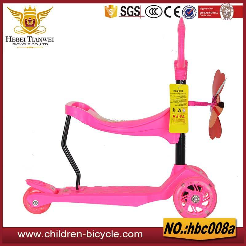 New Styles Child Scooter with Seat