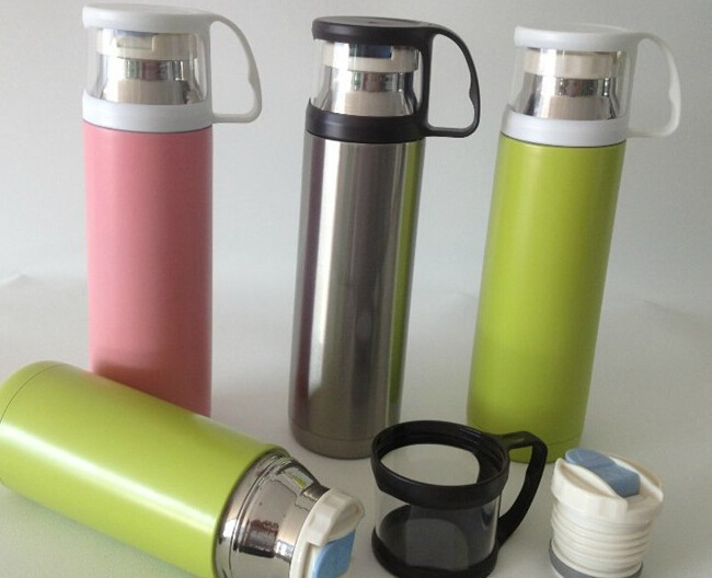 Drinkware Thermos Stainless Steel Vacuum Flask 500ml
