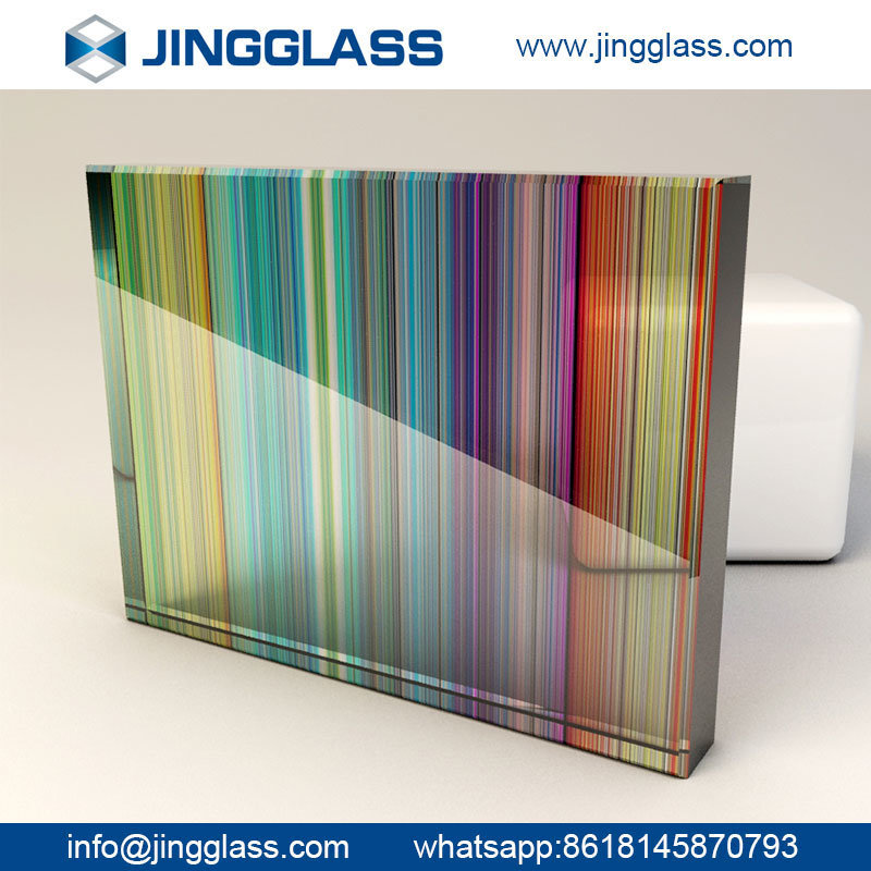China Safety Building Flat Stained Tempered Glass