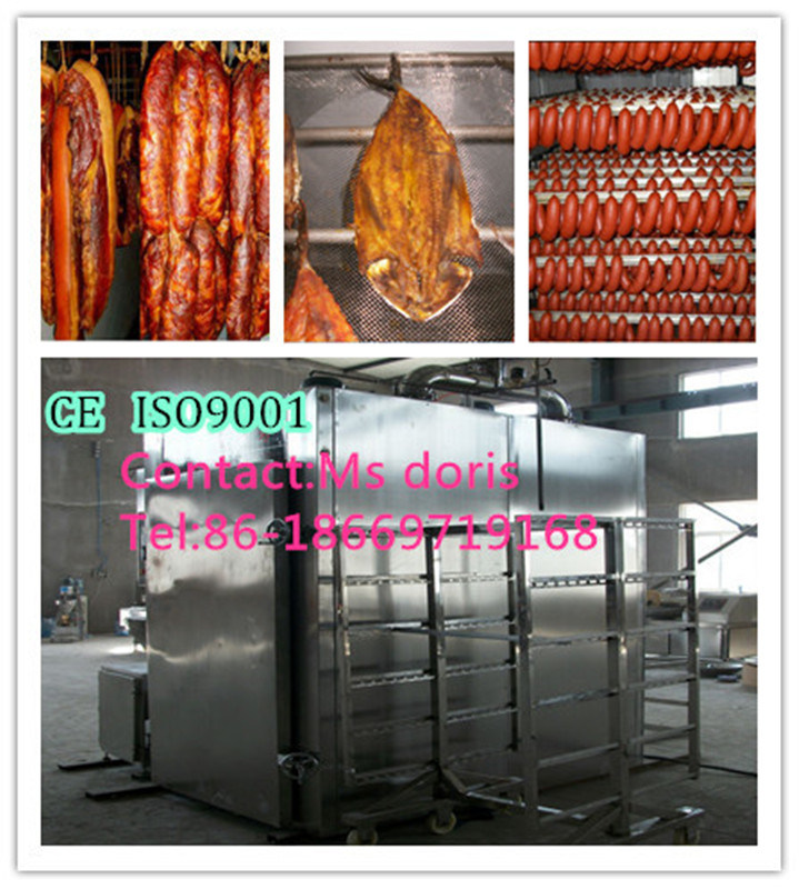 Stainless Steel Vacuum Smoking Oven/Smoker/Smoke Chamber