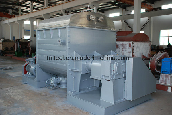 Sigma Mixer with Bottom Pneumatic Ball Valve Discharge for Soap, CMC, Hot Melt Adhesive, Flame Retardant