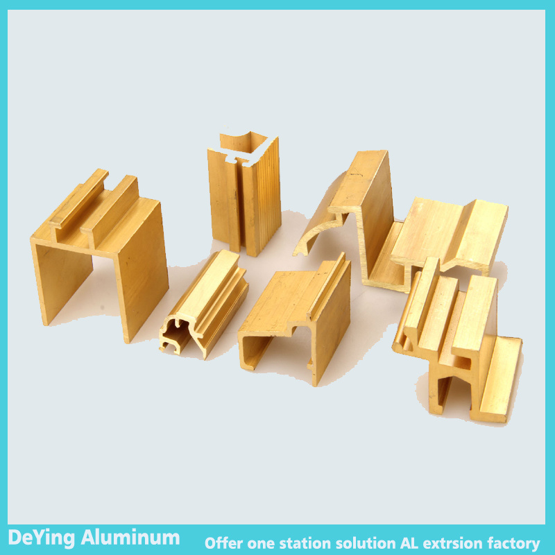 China Competitive Aluminium/Aluminum Profile Extrusion Hardware Parts