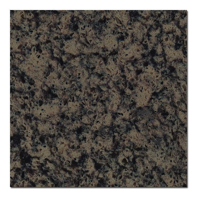 Black Marble Big Slab Artificial Marble Quartz for Vanity Top (QD211)