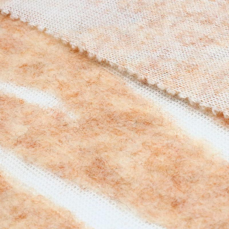 Light Fashion Woolen Fabric for Garment