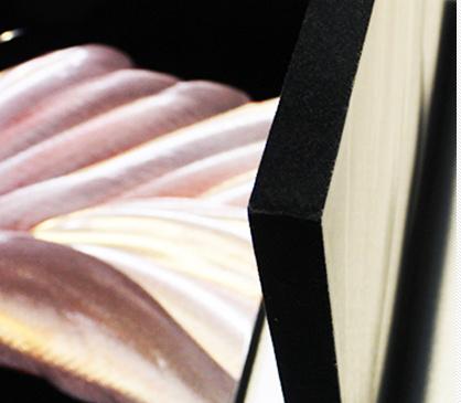 100% Handmade Aluminum 3D Effect Flower Painting/Decoration/Photos (CHB6015039)