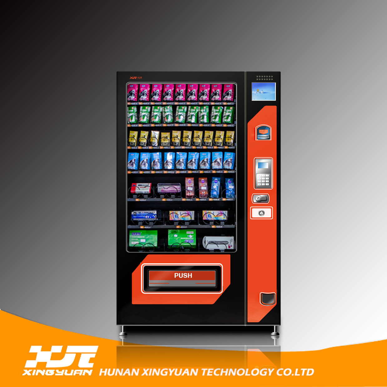 Condoms&Sanitary Napkins Vending Machine