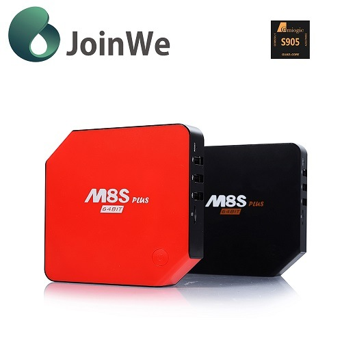 M8s Plus Best Android 5.1 Set Top Box Bluetooth 4.0