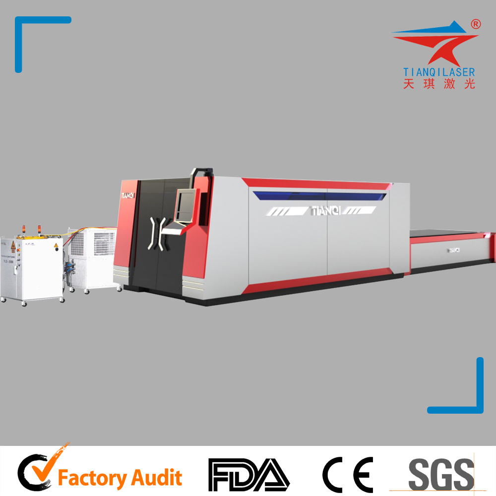 Automatic CNC Carbon Fiber Metal Laser Cutting Engraving Machine (TQL-MFC1000-2513)