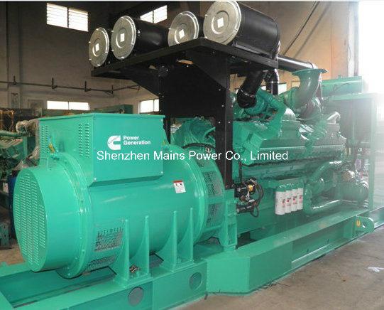 1800kw 2250kVA USA Cummins Diesel Generator Standby 2000kw 2500kVA