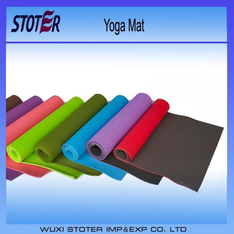 Eco - Friendly NBR /PVC Yoga Mat