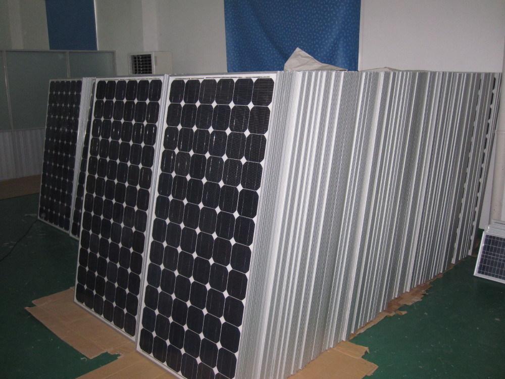 165W Mono PV Solar Panels