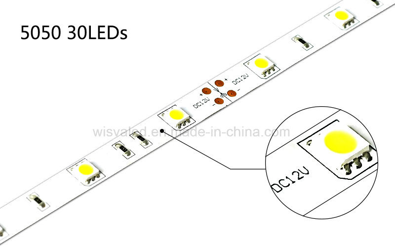 UL Listed 30LEDs 5050 LED 12V Strips