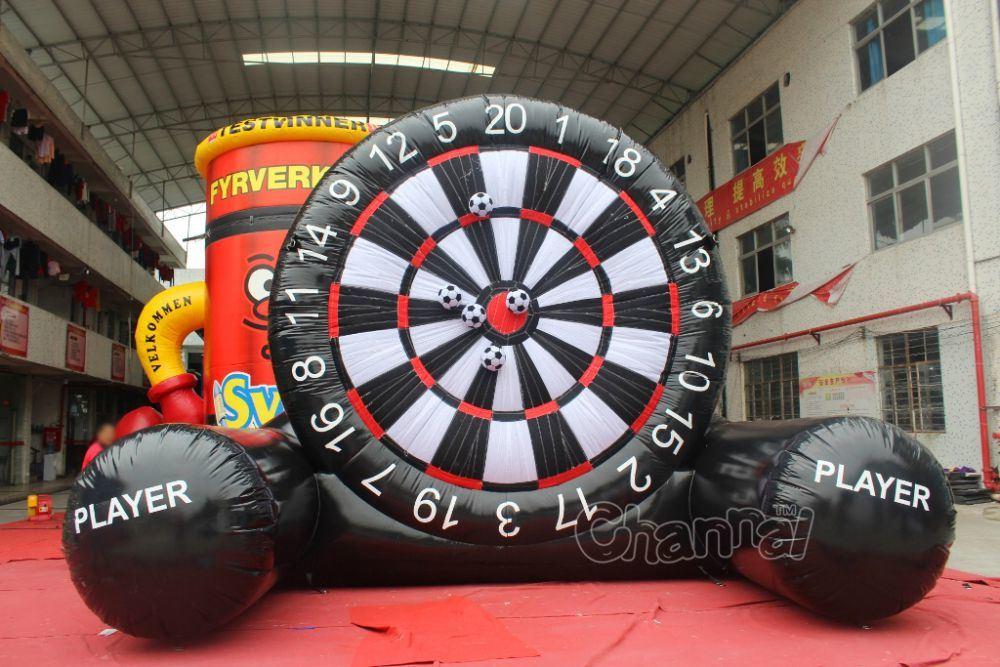 Giant Velcro Inflatable Soccer Dart Board Chsp521