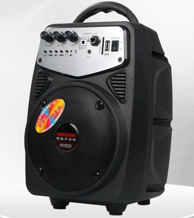 Many Color Small Portable Mini Speaker with SD/FM/USB Q2