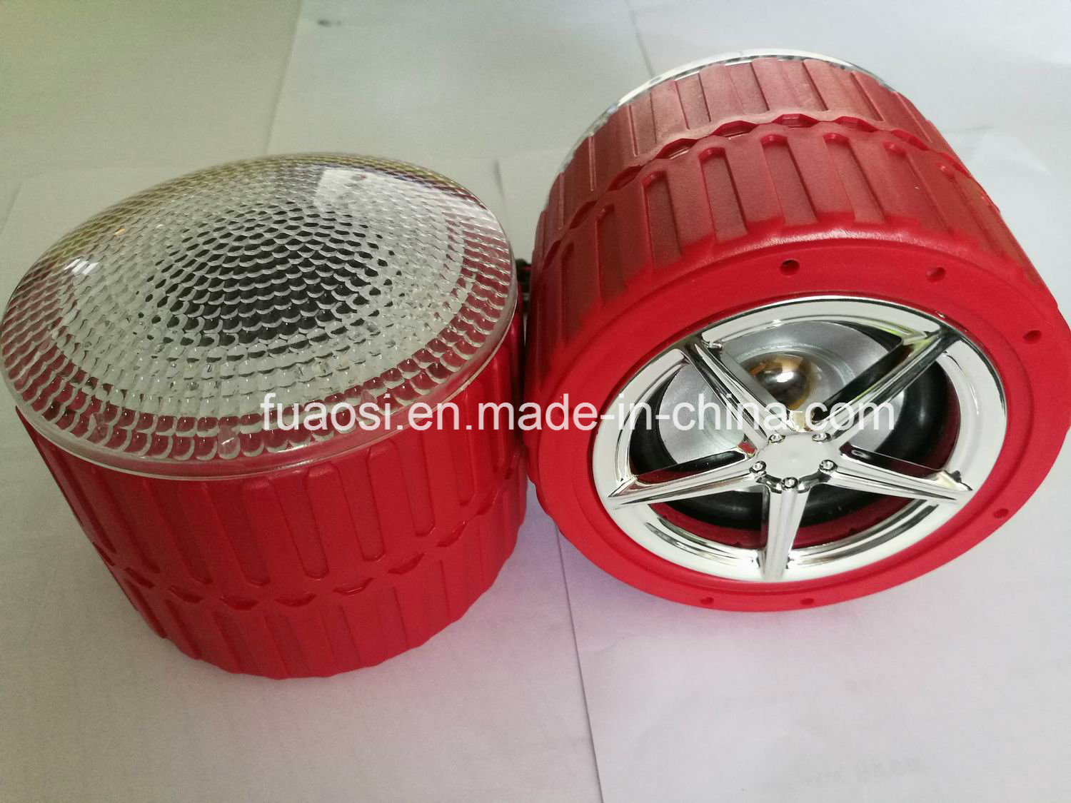 Motorcycle Stereo System MP3 with Wheel Shape