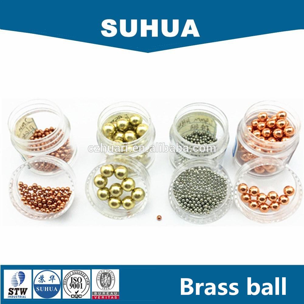 Zinc / Silver / Tin / Gold / Chrome / Copper / Brass Plated Steel Ball