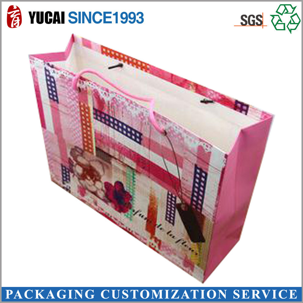 White Card Paper Bag Portable Garment Bags General Gift Paper Can Be Customized