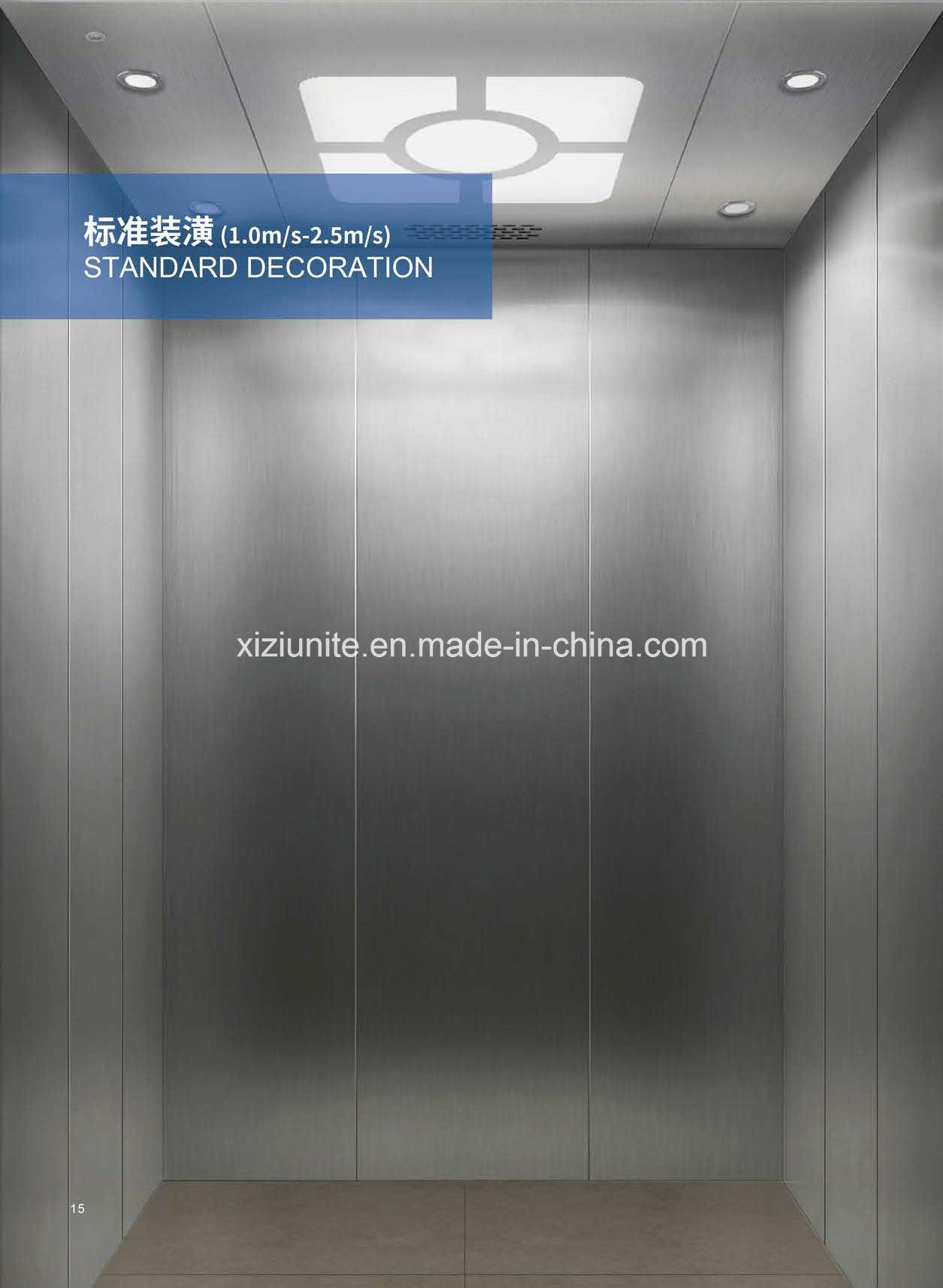 High Speed Safe & Low Noise Passenger Elevator