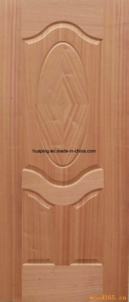 Sapeli Door Skin/Wood Veneer Door Skin/Molded Door Skin