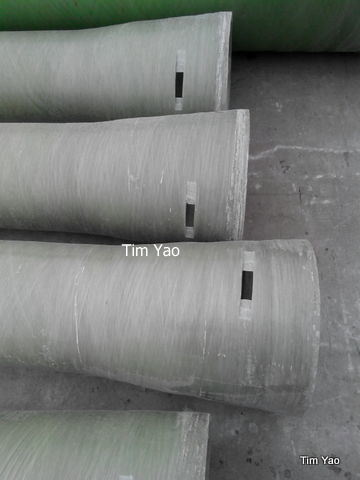 50mm-2600mm Abrasion Resistant FRP Pipe for Slurry Water