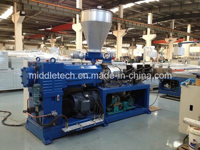 WPC/PVC Pelletizer/Granulation Line Sjz80/156