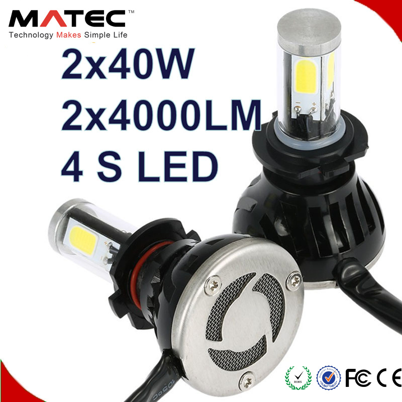 High Lumen 80W 8000lm G5 COB LED Car Light H4 H7 9005 9006 H11 LED Headlight