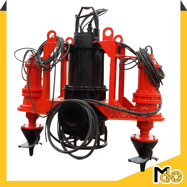 Centrifugal Submersible Dredge Pump with Agitator