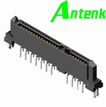 Operating Temperature Connector SATA Female DIP 7 + 15p