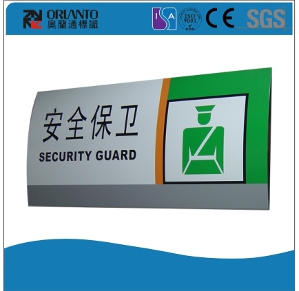 Lpt -Aluminium Curved Advertising Sign
