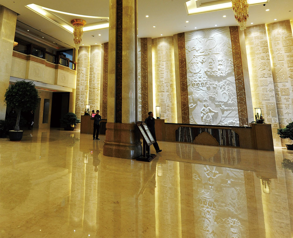 Marble Wall Cladding Services : China ceramic backed stone marble composite panel for wall
