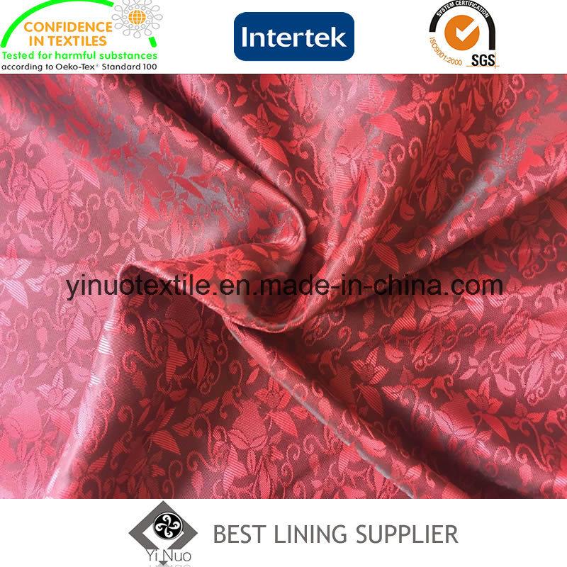 Beautiful Jacquard Men′s Suit Lining Fabric Factory